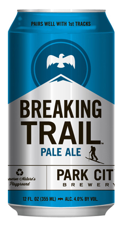 Park City Brewery Breaking Trail