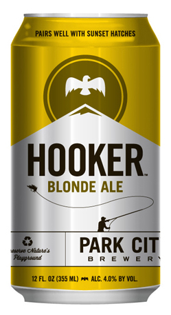 Park City Brewery Hooker Blonde Ale