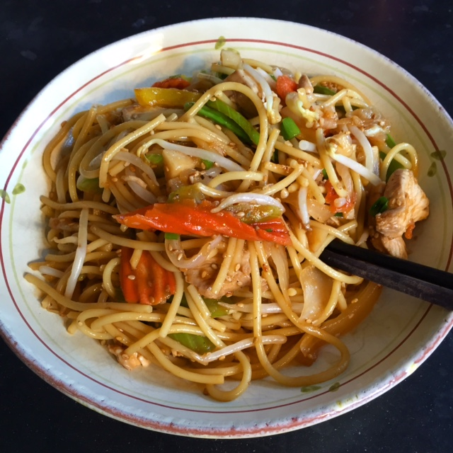 Recipe: At Home Lo Mein · Dishing Park City