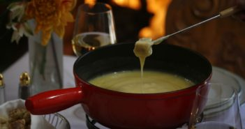 fondue at Goldener Hirsch