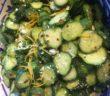 cucumber feta lemon salad