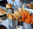burger fries slider