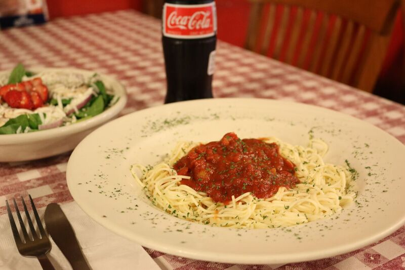 red banjo spaghetti