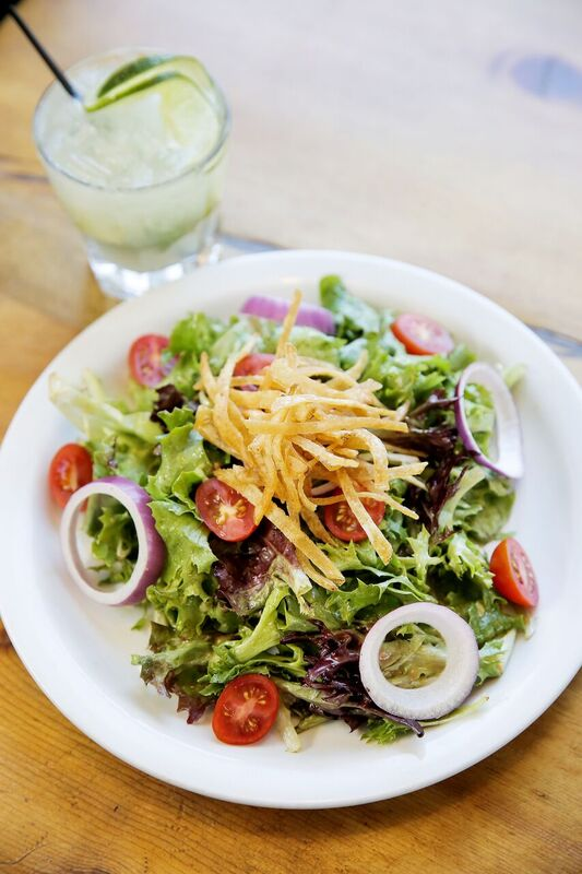 bridge cafe salad