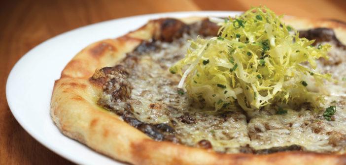 j g grill truffle pizza