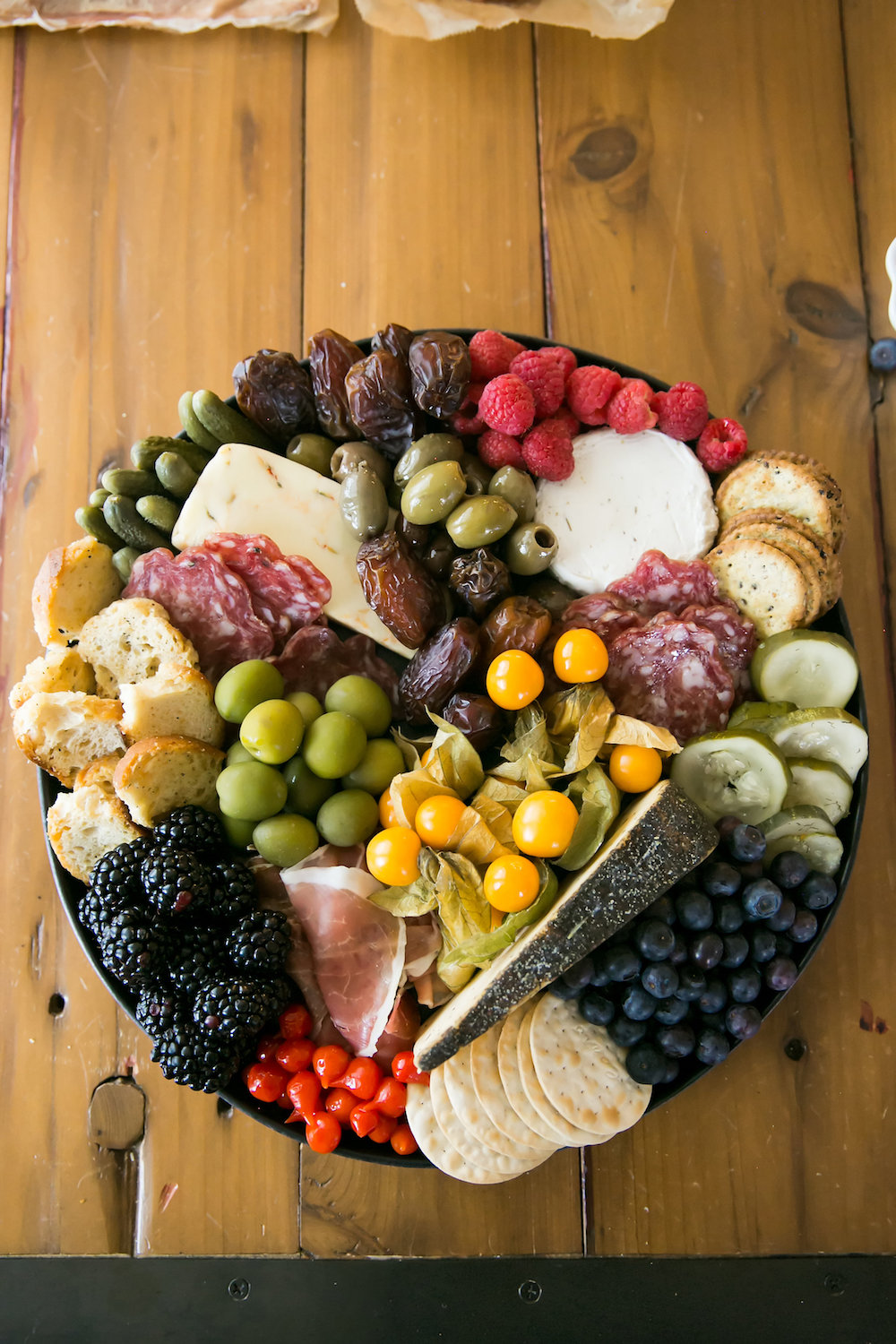 sweets and cheese