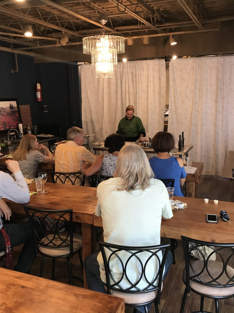 mountain town olive oil class