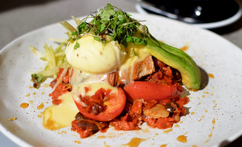 Five5eeds Vegetarian Benedict
