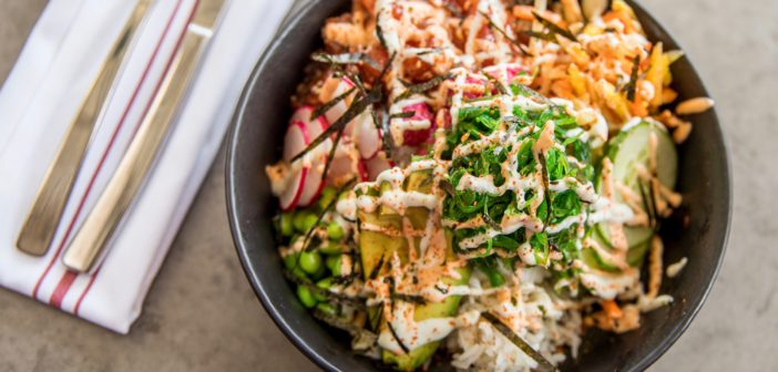 Five5eeds Poke Bowl