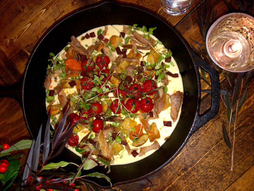 Deer Valley Winter Menu Tasting: Fireside Grilled Guinea Hen Gnocchi