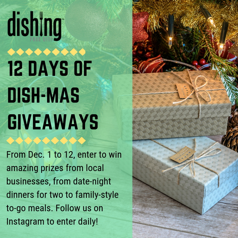 12 Days of Dishmas Giveaways