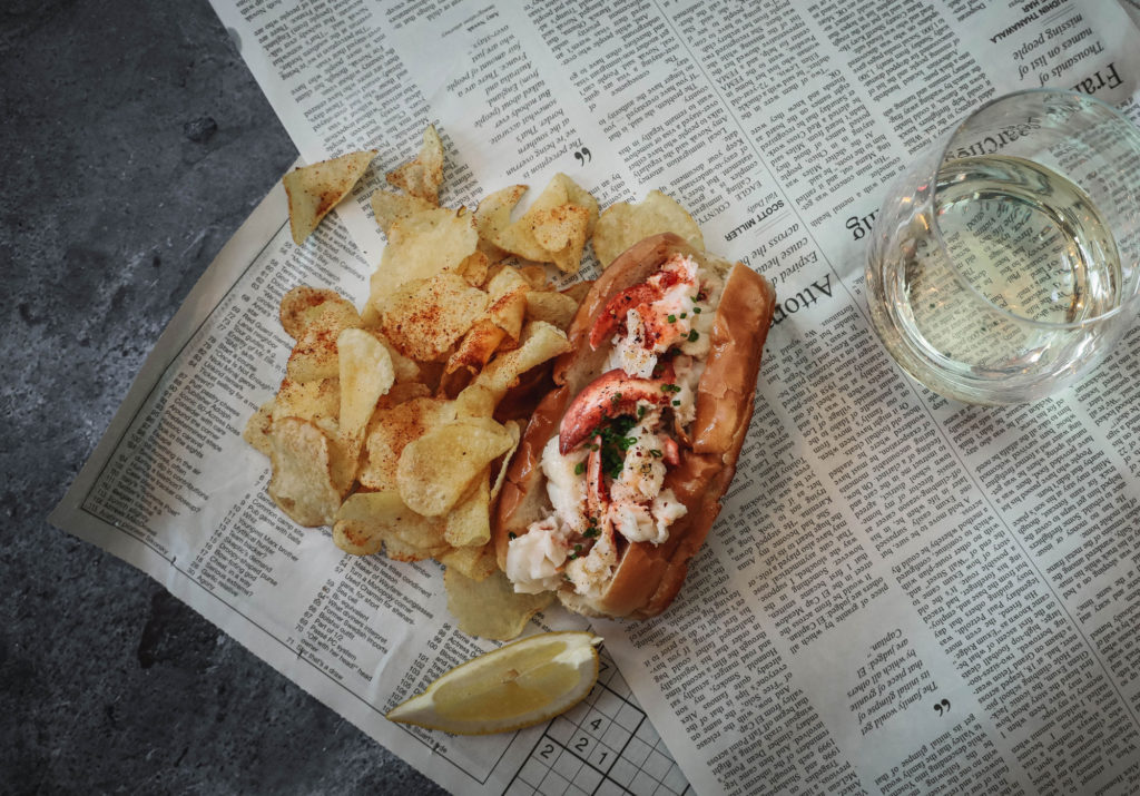Rime Raw Bar Lobster Roll