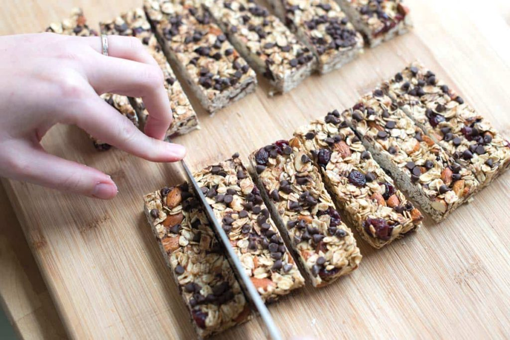 Ski Snacks: Homemade Granola Bars