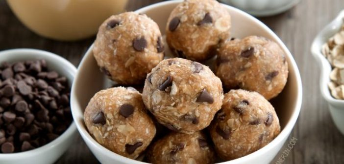 Snacks for Skiing: Peanut Butter Protein Balls