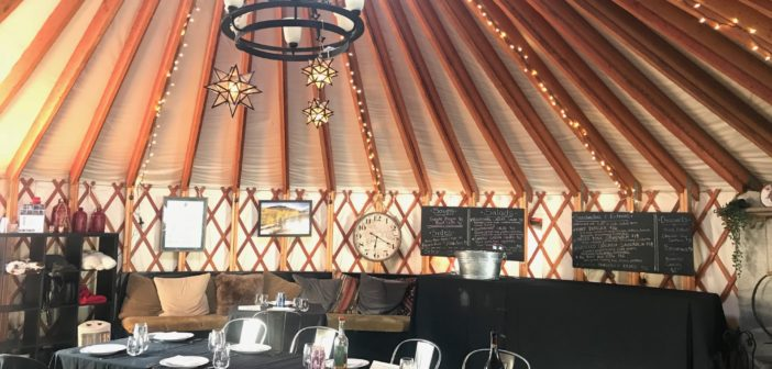 A Night of Savoury Kitchen at The Colony Yurt