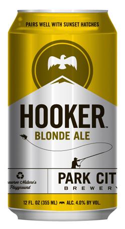 Park City Brewery Hooker Blonde Ale