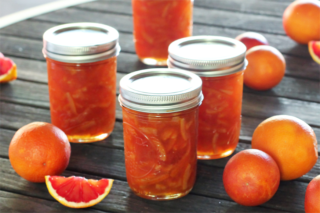 Blood Orange Marmalade Recipe · Dishing