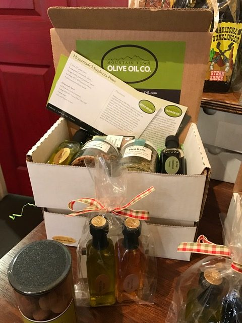 Mountain Town Olive Oil Co. gift basket
