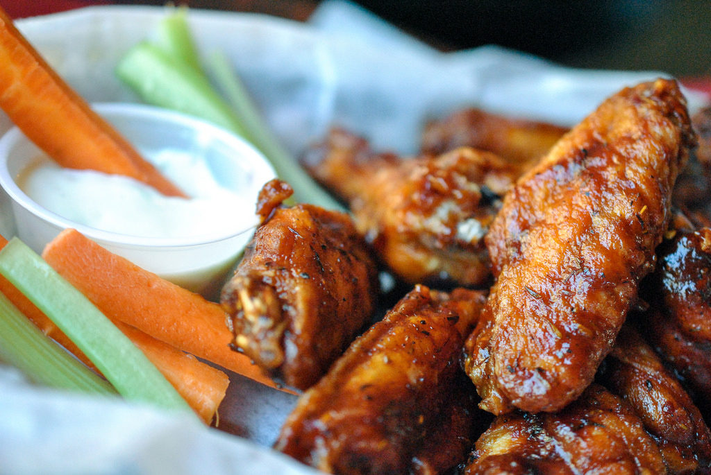 Superbowl Park City Events Wings