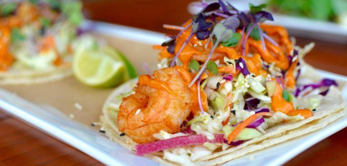 Deer Valley Grocery Cafe Shrimp Tacos