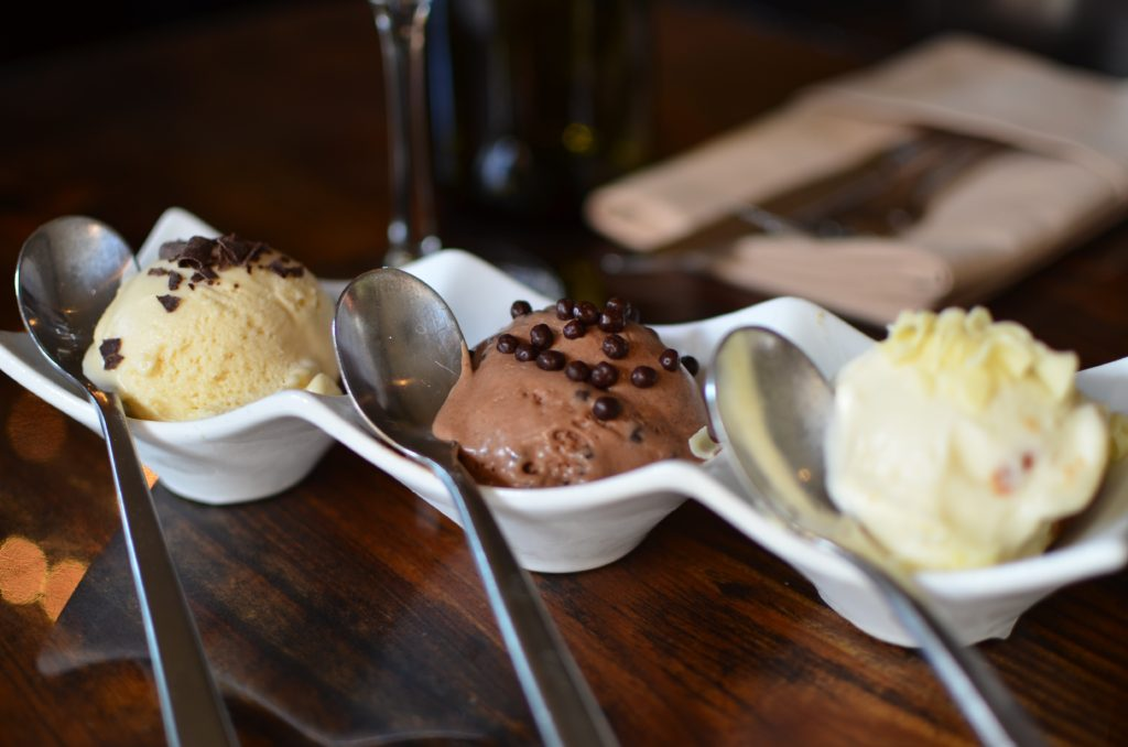 Fletcher's Ice Cream Trio