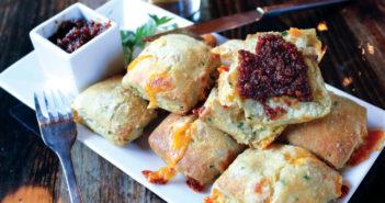 fletchers biscuits bacon jam