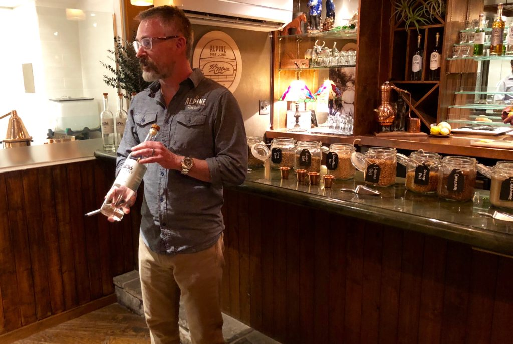 Alpine Distilling at 350 Main