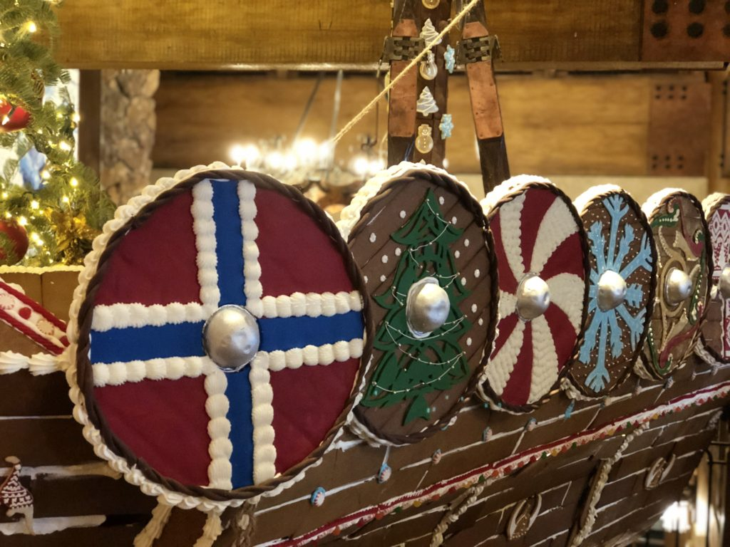 Stein Eriksen Gingerbread Ship