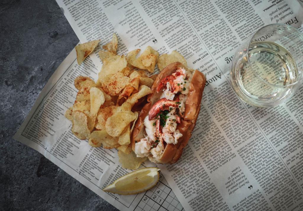Rime Raw Bar Lobster Roll