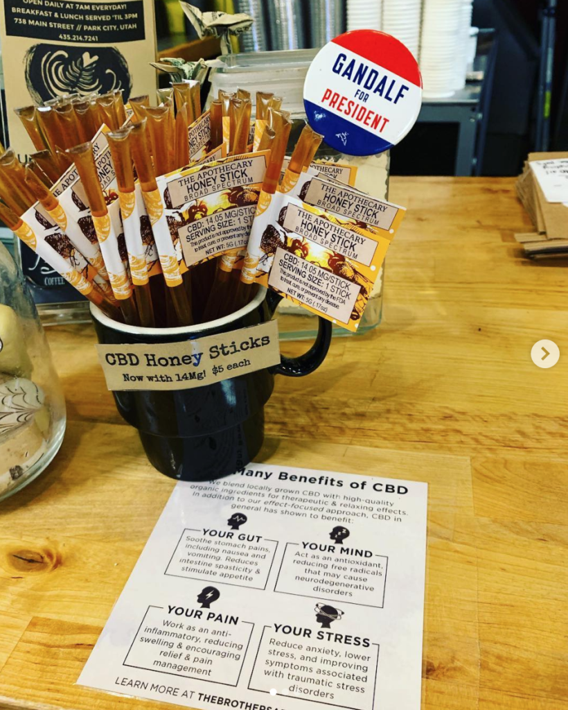 Atticus CBD Honey Sticks