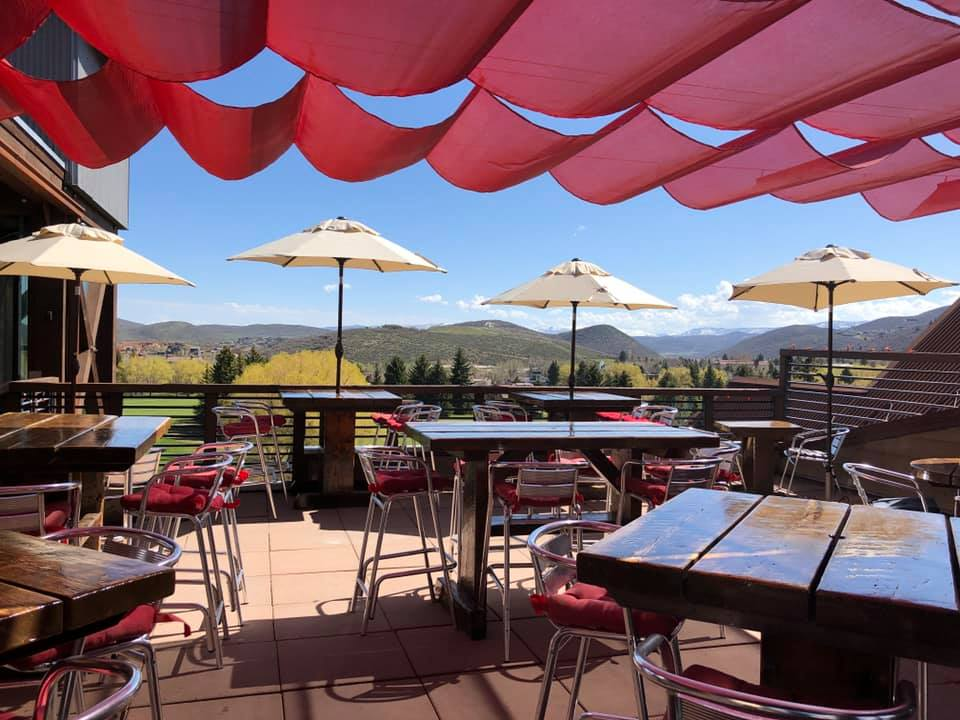 Silver Star Cafe's Outdoor Deck