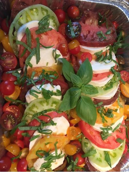 Summer Produce: Caprese Salad