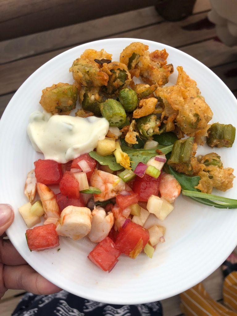 Hops on the Hill Shrimp Salad