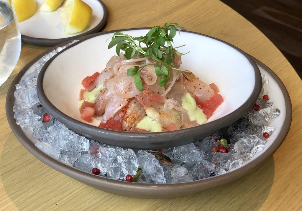 Yuta: Kanpachi Ceviche