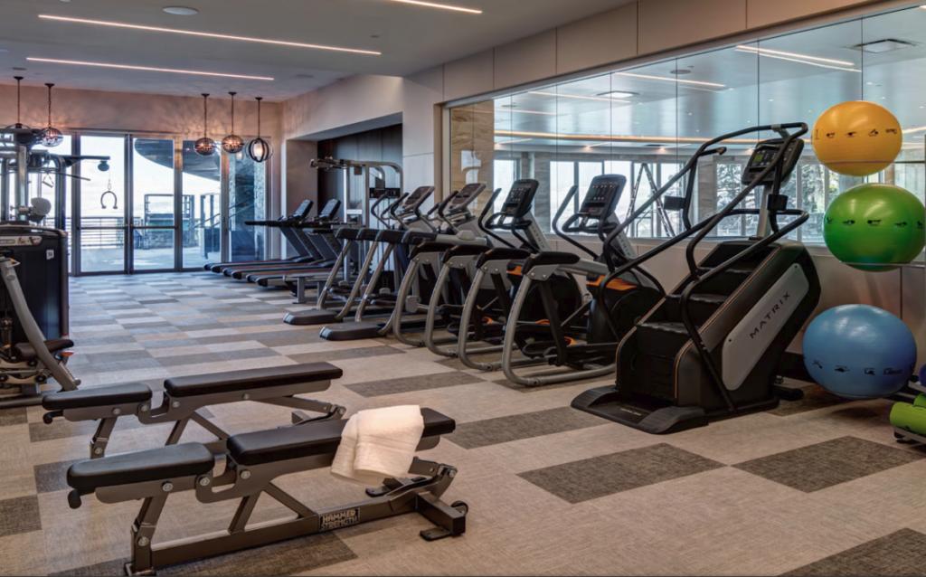 Stein Eriksen Residences Gym
