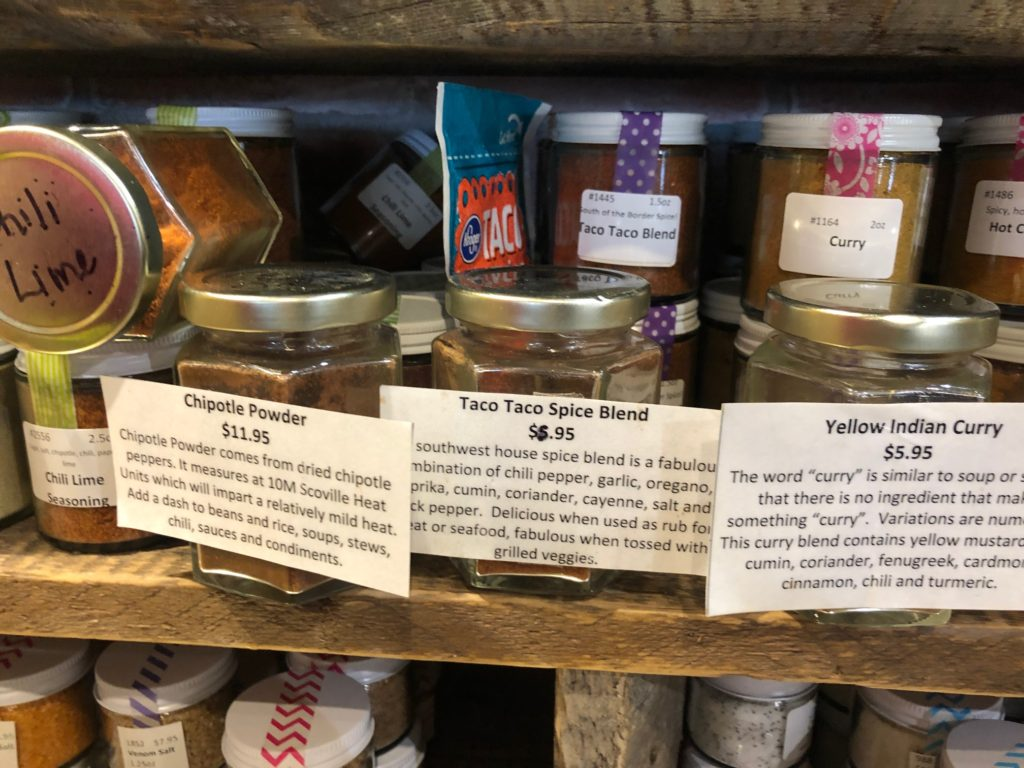 Mountain town olive oil spice blend