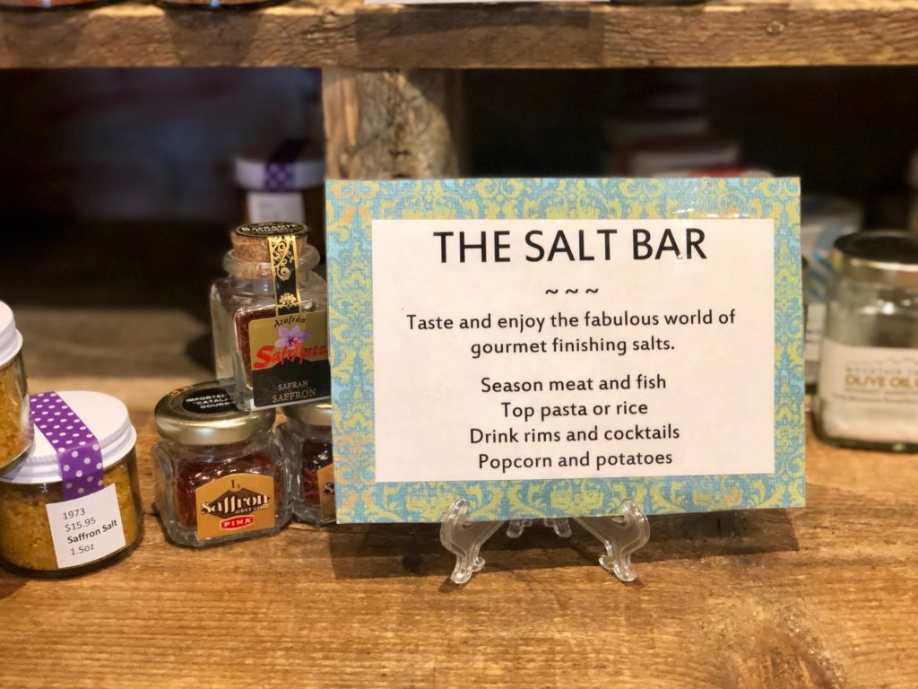 Mountain Town Olive Oil Salt Bar