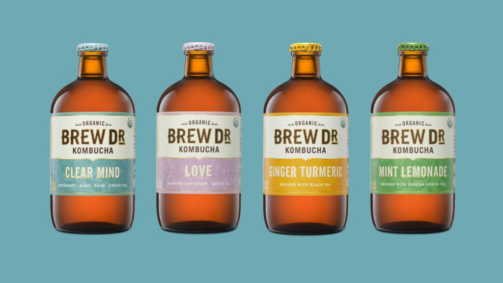 Brew Dr Kombucha Flavors
