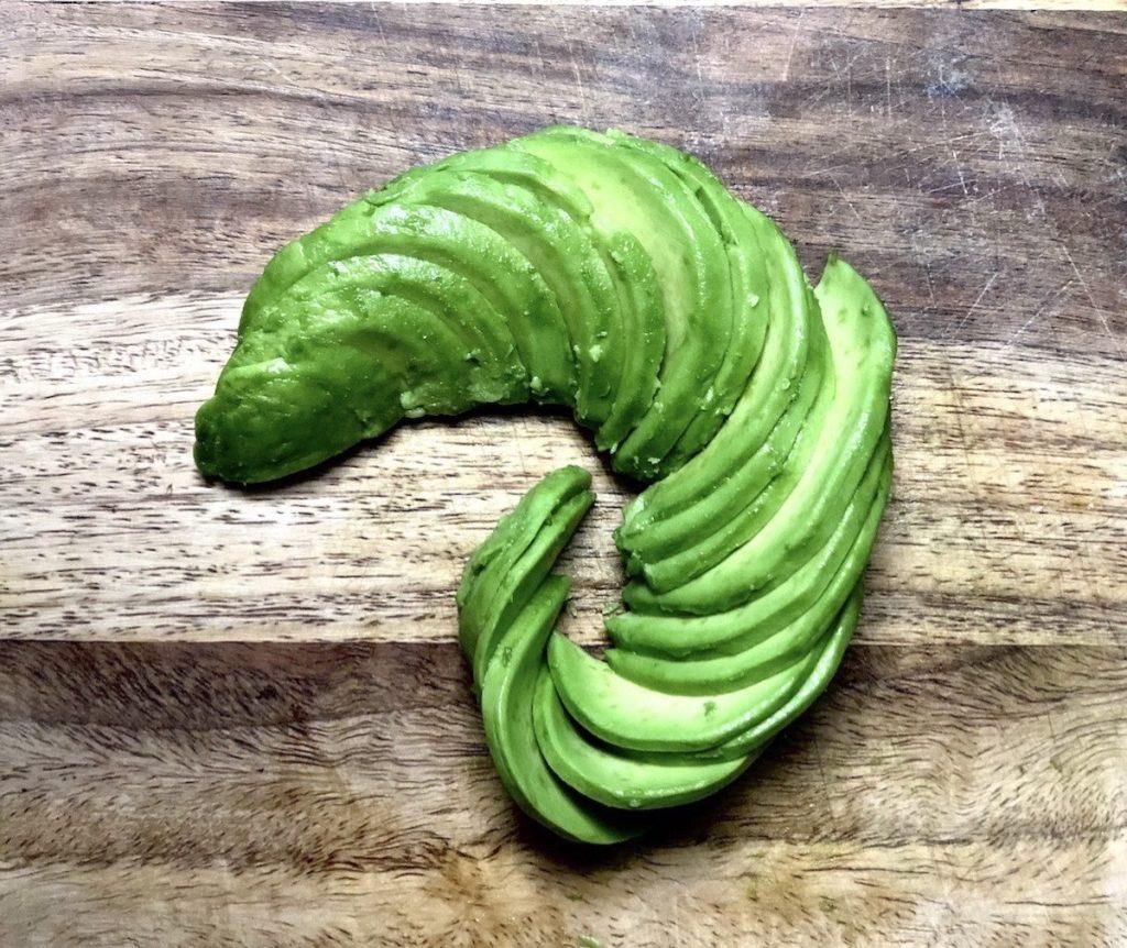 Spiraled Avocado Toast Step 4