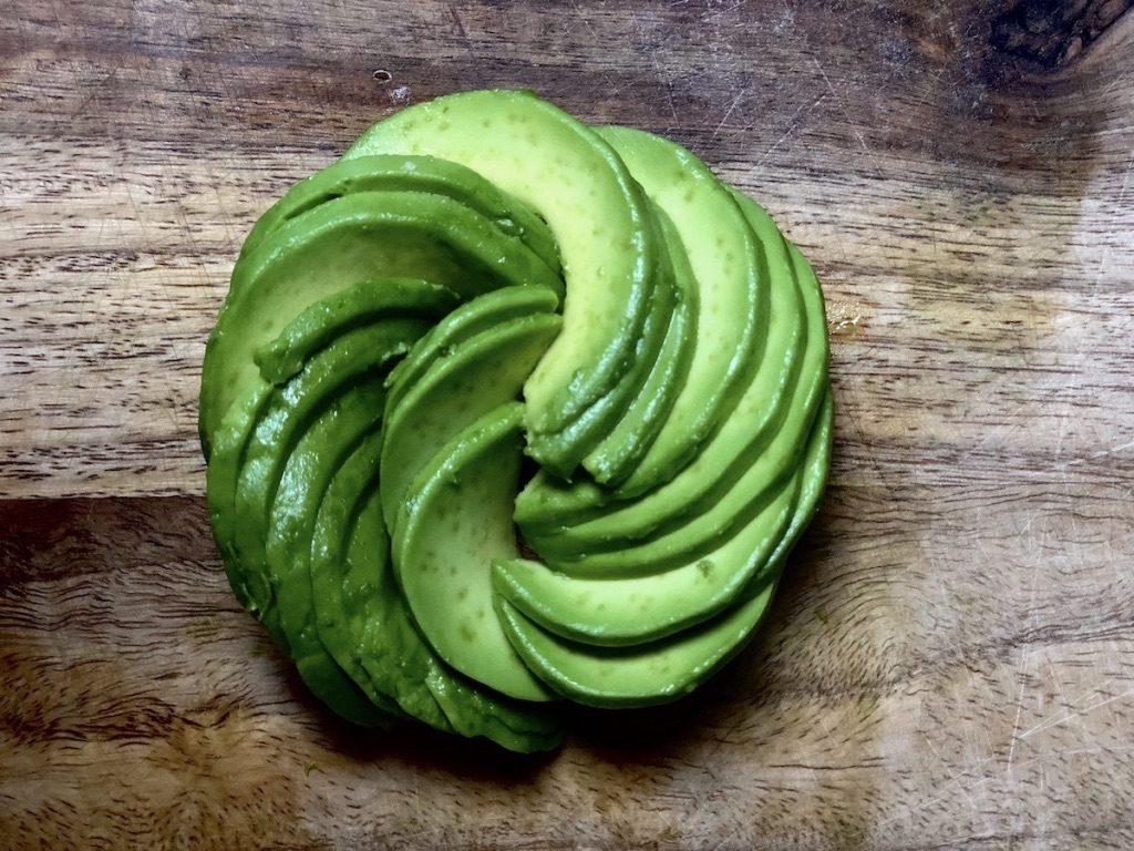 Spiraled Avocado Toast Step 5